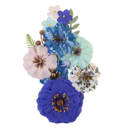 Prima Nature Lover Mulberry Paper Flowers 10/Pkg - Natural Beauty