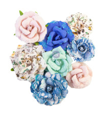 Prima Nature Lover Mulberry Paper Flowers 8/Pkg - Bird Waltz
