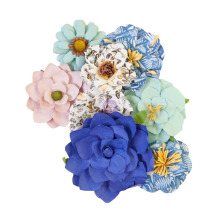 Prima Nature Lover Mulberry Paper Flowers 8/Pkg - Nature Lover