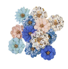 Prima Nature Lover Mulberry Paper Flowers 12/Pkg - Fresh Meadows