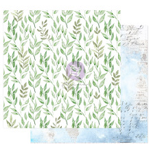 Prima Watercolor Floral Cardstock 12X12 - Peaceful Bliss