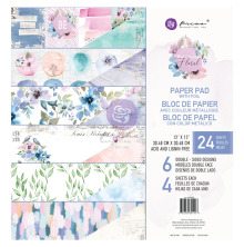 Prima Double-Sided Paper Pad 12X12 24/Pkg - Watercolor Floral