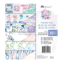 Prima Double-Sided Paper Pad 6X6 30/Pkg - Watercolor Floral