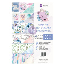 Prima Double-Sided Paper Pad A4 30/Pkg - Watercolor Floral