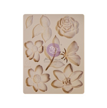 Prima Decor Mould 3.5X4.5 - Watercolor Floral