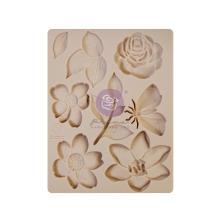 Prima Decor Mould 3.5X4.5 - Watercolor Floral