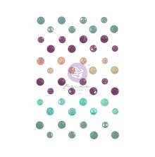Prima Say It In Crystals 48/Pkg - Watercolor Floral