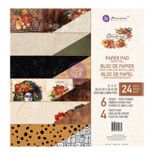 Prima Double-Sided Paper Pad 12X12 24/Pkg - Diamond