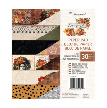 Prima Double-Sided Paper Pad 6X6 30/Pkg - Diamond