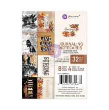 Prima Journaling Cards 3X4 32/Pkg - Diamond