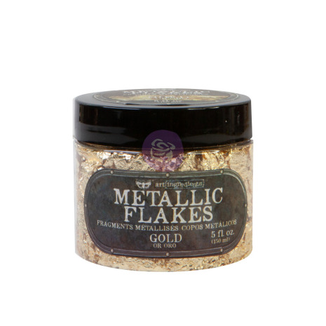 Prima Art Ingredients Metal Flakes 150ml - Gold