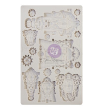Prima Finnabair Decor Moulds 5X8 - Queens of Steam