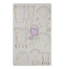 Prima Finnabair Decor Moulds 5X8 - Vintage Portraits