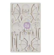 Prima Finnabair Decor Moulds 5X8 - Wings and Bones
