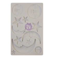 Prima Finnabair Decor Moulds 5X8 - Nocturnal Elements