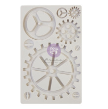 Prima Finnabair Decor Moulds 5X8 - Large Gears