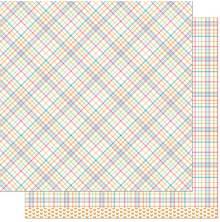 Lawn Fawn Perfectly Plaid Remix Paper 12X12 - Kristin Remix