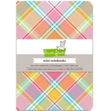 Lawn Fawn Mini Notebooks 3.5X5 2/Pkg - Perfectly Plaid Remix