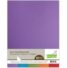 Lawn Fawn Textured Dot Cardstock - Brights
