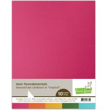 Lawn Fawn Textured Dot Cardstock - Tropical
