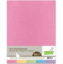 Lawn Fawn Textured Dot Cardstock - Pastels