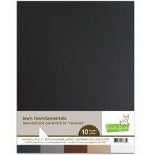 Lawn Fawn Textured Dot Cardstock - Neutrals