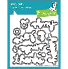 Lawn Fawn Dies - Scripty Bubble Sentiments