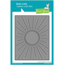 Lawn Fawn Dies - Sunburst Backdrop