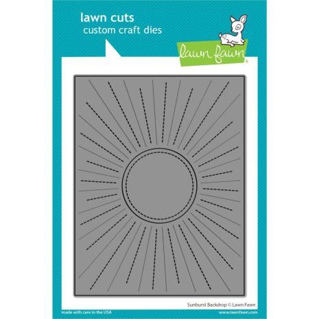Lawn Fawn Dies - Sunburst Backdrop