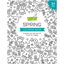 Lawn Fawn Coloring Book - Spring