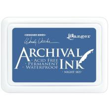 Ranger Archival Ink Pad - Night Sky