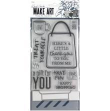 Wendy Vecchi Make Art Stamp Die & Stencil Set - Let´s Shop