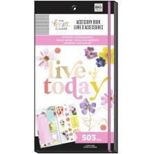Me & My Big Ideas Happy Planner Accessory Book - Pressed Florals