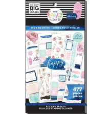 Me & My Big Ideas Happy Planner Sticker Value Pack - Year To Shine