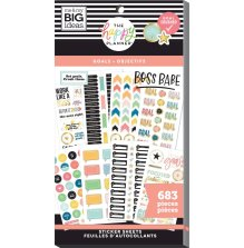 Me & My Big Ideas Happy Planner Sticker Value Pack - Goals 683