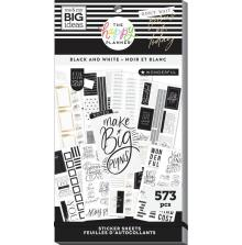 Me & My Big Ideas Happy Planner Sticker Value Pack - Black & White