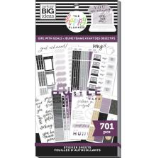 Me & My Big Ideas Happy Planner Sticker Value Pack - Girl With Goals