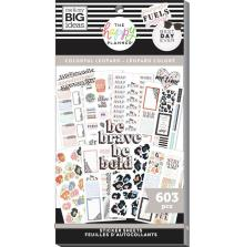 Me & My Big Ideas Happy Planner Sticker Value Pack - Colorful Leopard