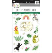 Me & My Big Ideas Happy Planner Stickers - Jungle Vibes