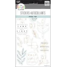 Me & My Big Ideas Happy Planner Stickers - Simple Faith