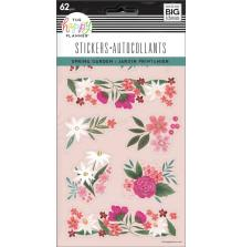 Me & My Big Ideas Happy Planner Stickers - Spring Floral