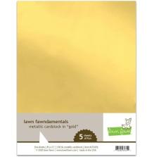 Lawn Fawn Metallic Cardstock - Gold
