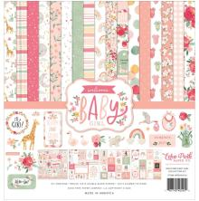 Echo Park Collection Kit 12X12 - Welcome Baby Girl