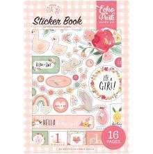 Echo Park Sticker Book - Welcome Baby Girl