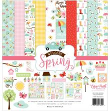 Echo Park Collection Kit 12X12 - Welcome Spring