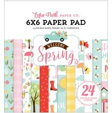 Echo Park Double-Sided Paper Pad 6X6 - Welcome Spring