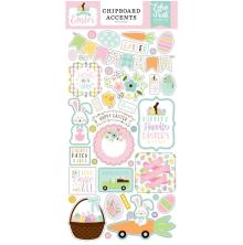 Echo Park Welcome Easter Chipboard 6X13 - Accents