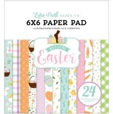 Echo Park Double-Sided Paper Pad 6X6 - Welcome Easter