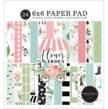 Carta Bella Double-Sided Paper Pad 6X6 - Flower Garden
