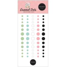 Carta Bella Adhesive Enamel Dots 60/Pkg - Flower Garden